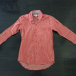 NWT Checkered long sleeve top!!!